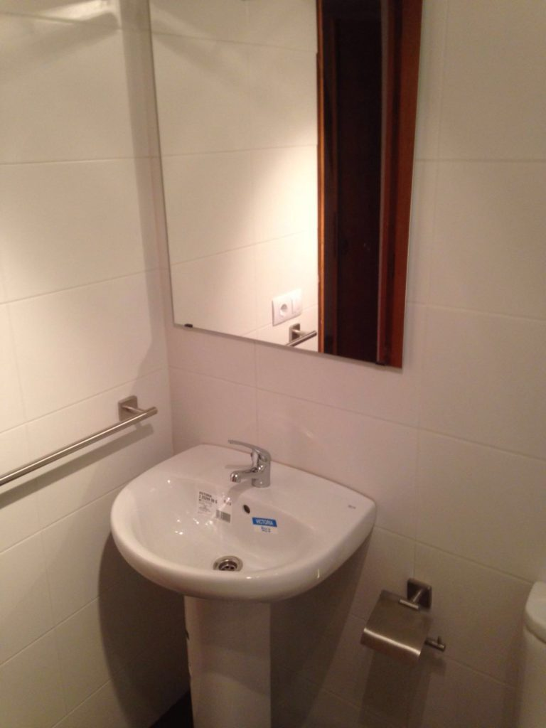 instalaciones de fontaneria en san sebastian, fontaneria ledesma, plato de ducha