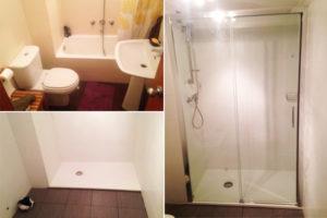 empresa de reformas de baños en san sebastian donostia, fontaneria ledesma coordina los gremios
