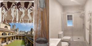 en que año se inventó la ducha, como se bañaban los romanos, cuando de invento el plato de ducha antideslizante. Fontanería Ledesma hace historia con los griegos los romanos y los inventores de la ducha